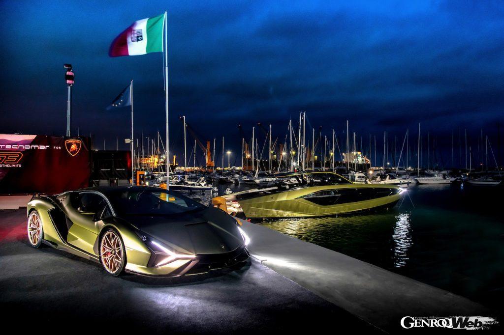 Tecnomar for Lamborghini 63のモチーフとなったシアン FKP 37