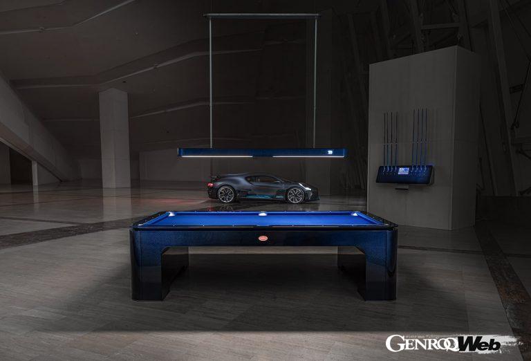 世界最高級のビリヤード台「ブガッティ・プールテーブル」、製造1台目をアメリカにデリバリー
