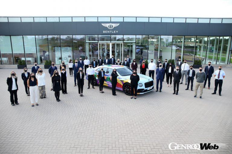 カーボンニュートラル&電動化を推進するベントレー、様々な分野で活躍が期待される112名の新入社員を雇用