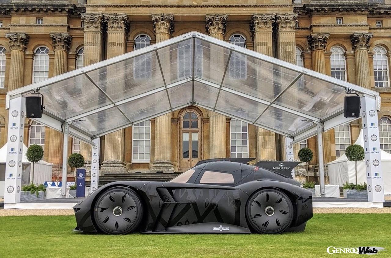 マクマートリー・オートモーティブ、電動ハイパースポーツ「スピアリング」をサロン・プリヴェに展示