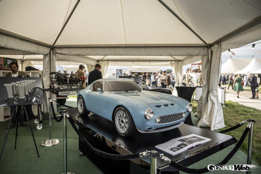 GTOエンジニアリング、グッドウッド・リバイバルで開発を続ける「スクアーロ」のスケールモデルを公開