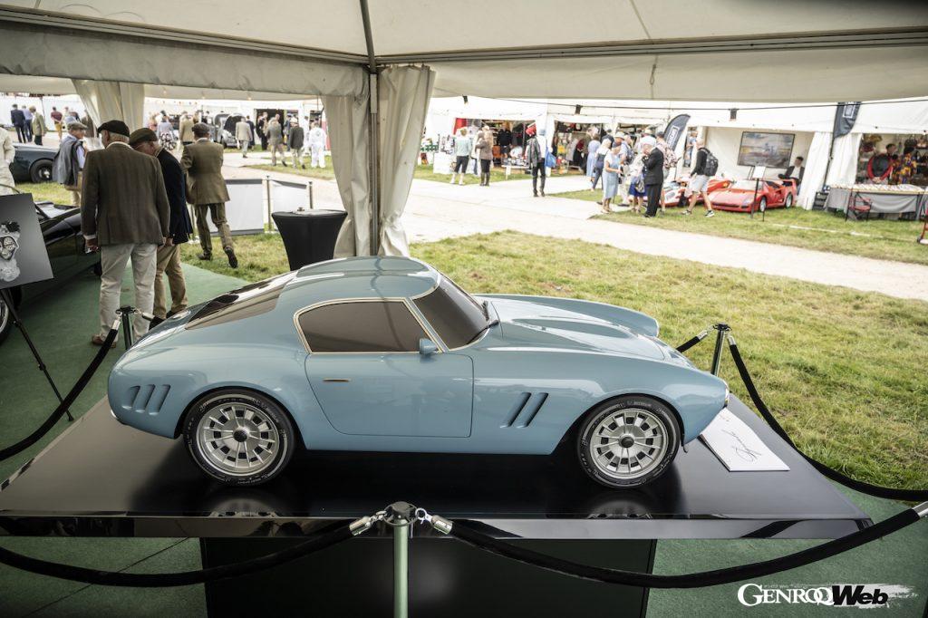 GTO エンジニアリング、グッドウッド・リバイバルで開発を続ける「スクアーロ」のスケールモデルを公開