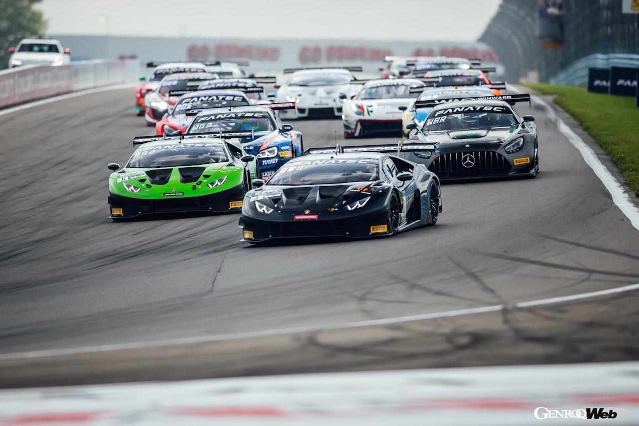 GTワールドチャレンジ・アメリカ第9戦/第10戦、ランボルギーニ ウラカン GT3 EVOが2連勝達成