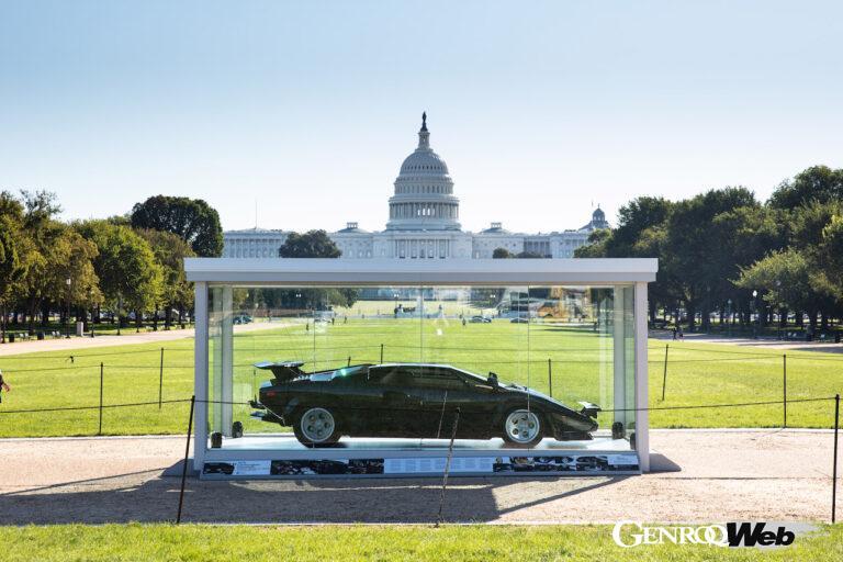 映画『キャノンボール』のランボルギーニ カウンタック LP400S、アメリカ議会図書館の歴史車両登録簿に追加