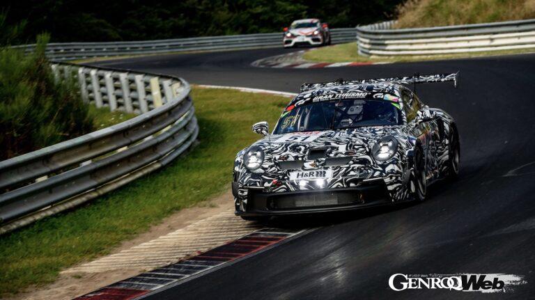 ワンメイクレース用車両「ポルシェ911 GT3 カップ」、2022年からの耐久レース参戦を目指してNLSにテスト参戦