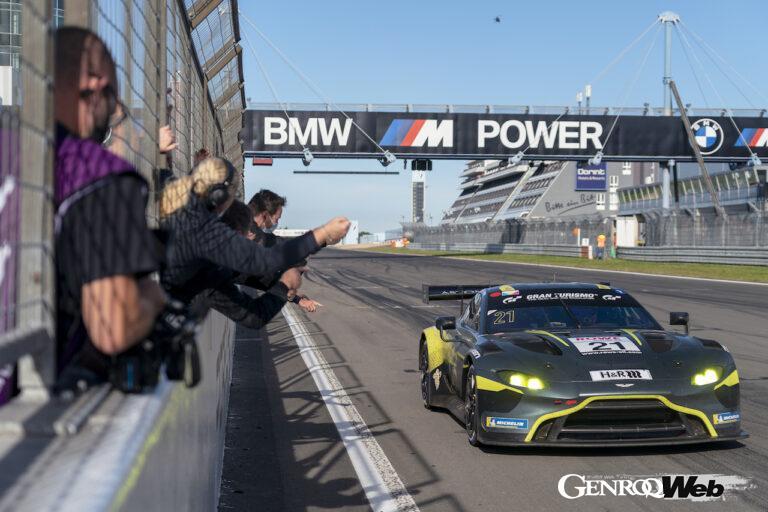 アストンマーティン ヴァンテージ GT3、ニュルブルクリンク耐久シリーズ第8戦でシリーズ初勝利