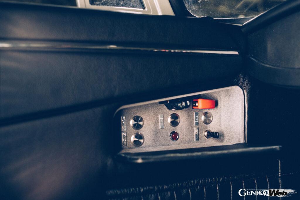 アストンマーティン DB5 ジュニア ノー・タイム・トゥ・ダイ仕様のスイッチパネル