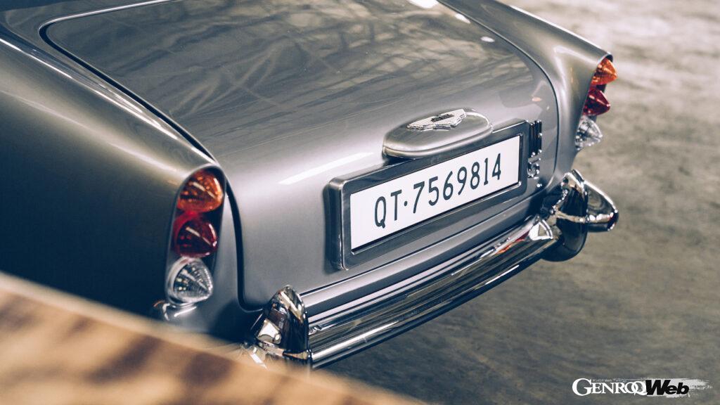 アストンマーティン DB5 ジュニア ノー・タイム・トゥ・ダイ仕様のリヤセクション