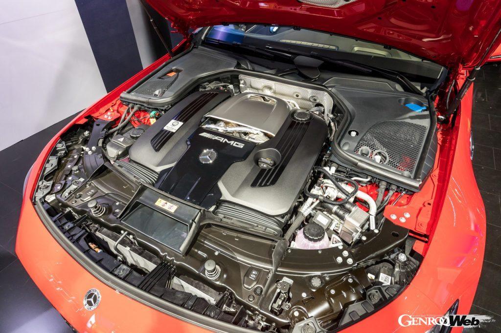 メルセデスAMG GT 63 S E PERFORMANCEのパワートレイン