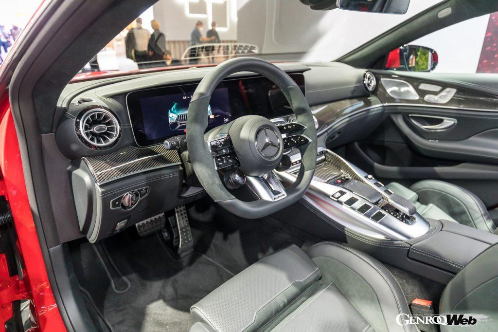 メルセデスAMG GT 63 S E PERFORMANCEのインテリア