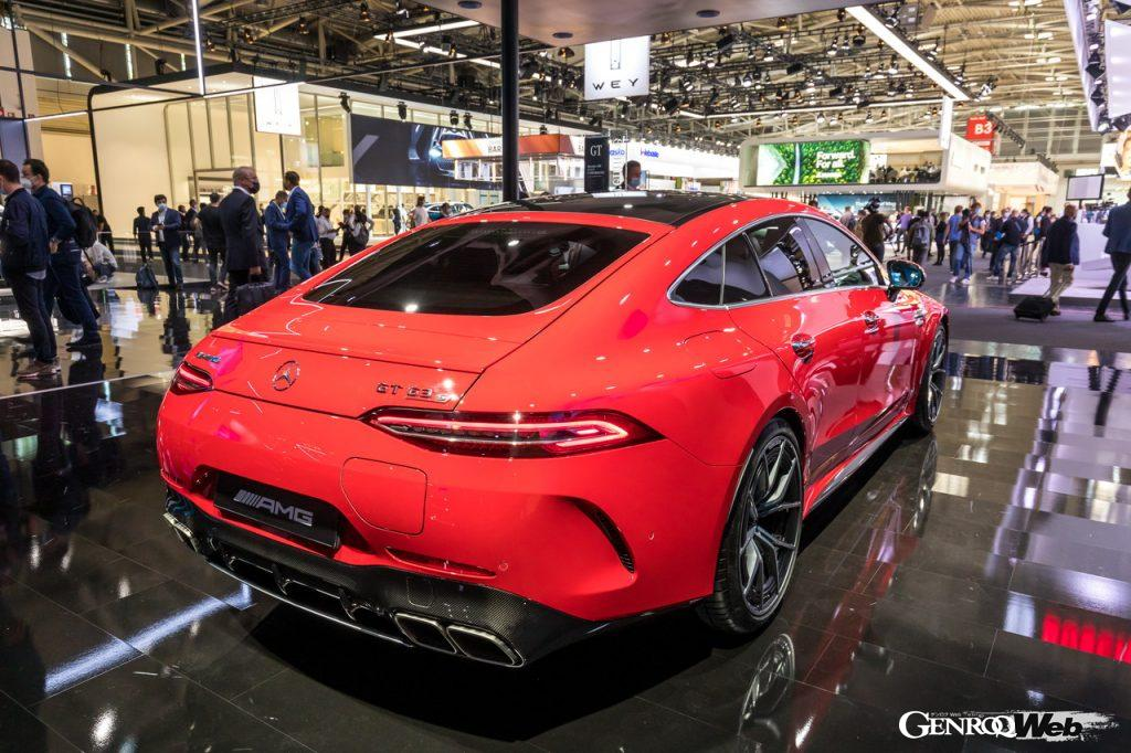 メルセデスAMG GT 63 S E PERFORMANCEのリヤビュー