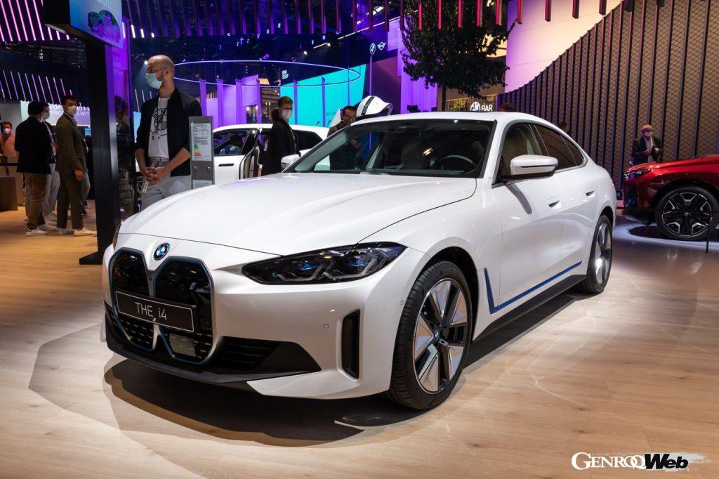 BMW i4のフロントスタイル