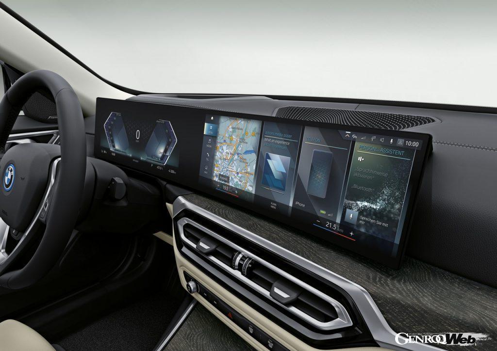BMW i4のダッシュボード