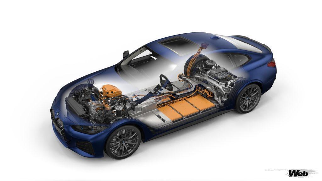 BMW i4のパワートレイン