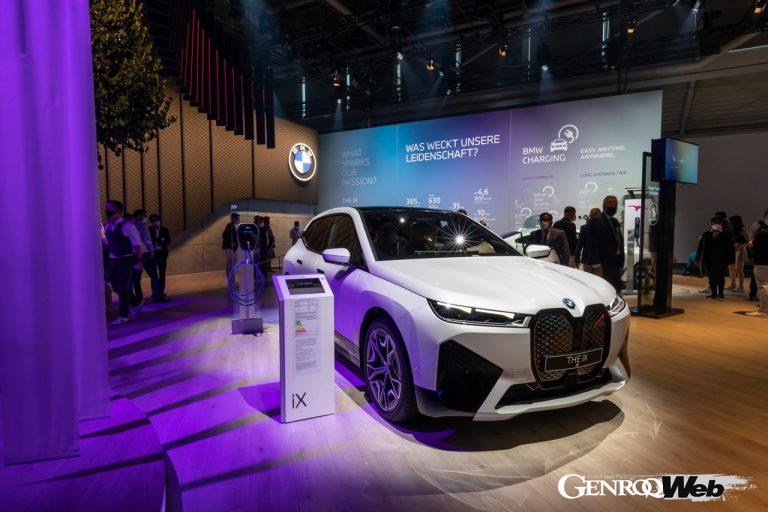BMW iXのフロントスタイル