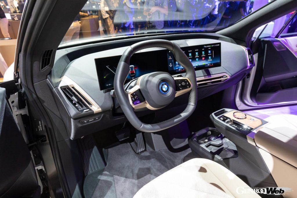 BMW iXのインテリア