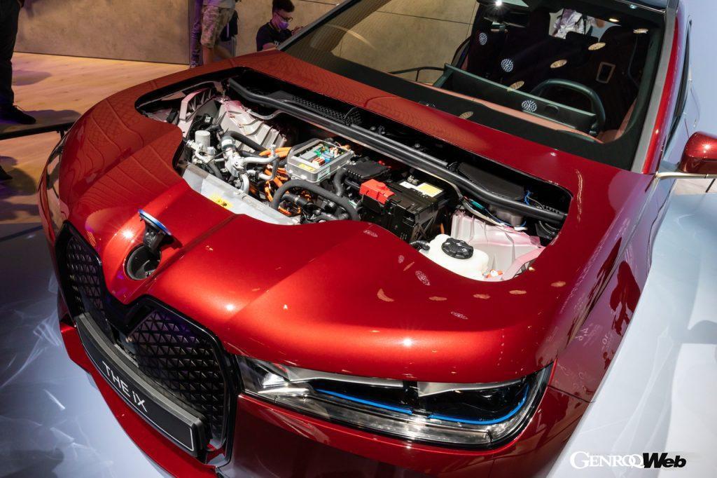 BMW iXのパワートレイン