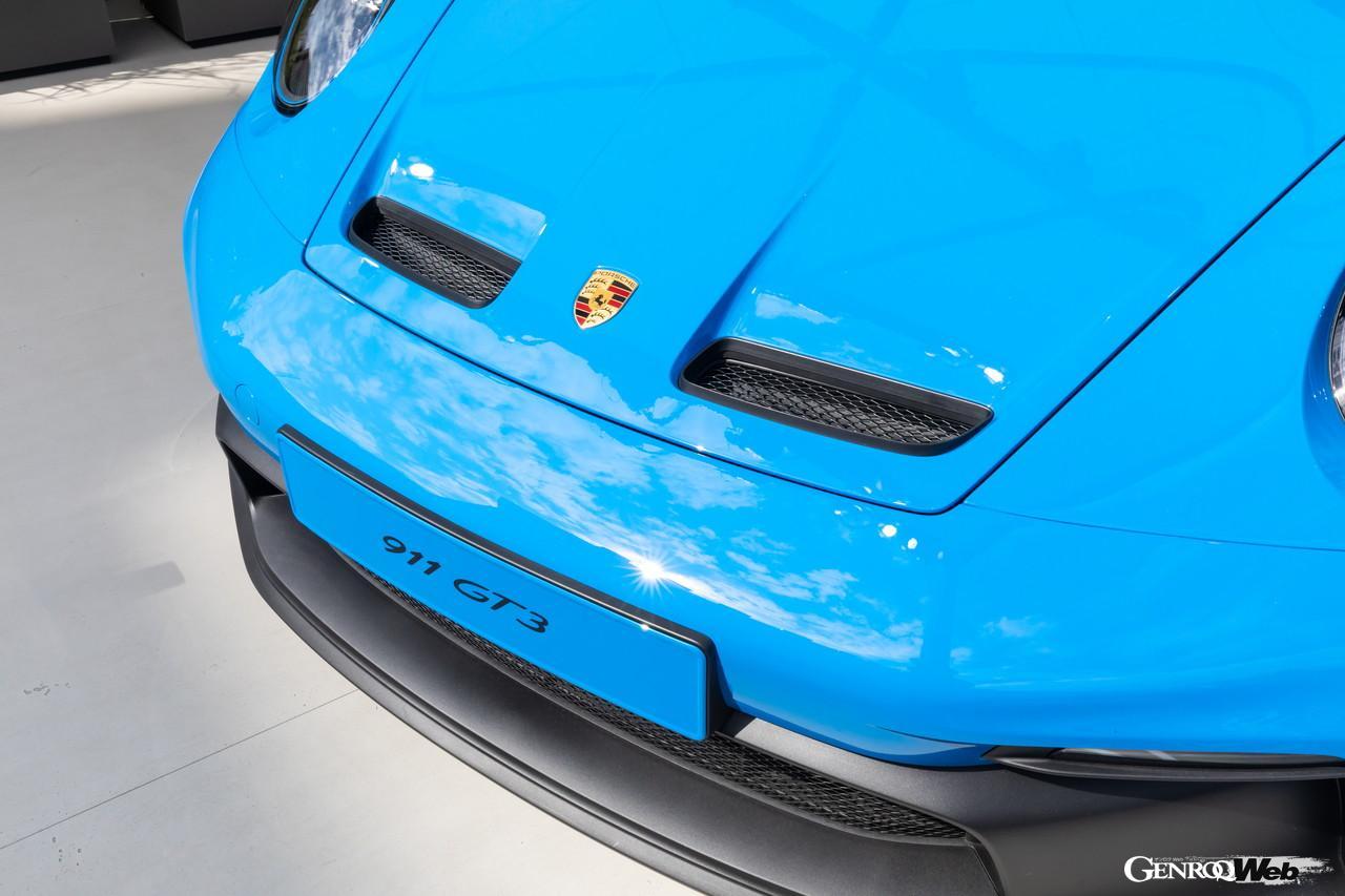 「ポルシェ、純内燃機関の究極完成系「992型GT3」をIAAで披露 【IAAモビリティ レポート】」の4枚目の画像