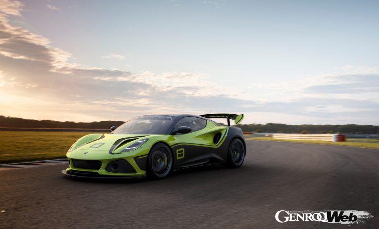 ロータス エミーラ GT4の走行シーン