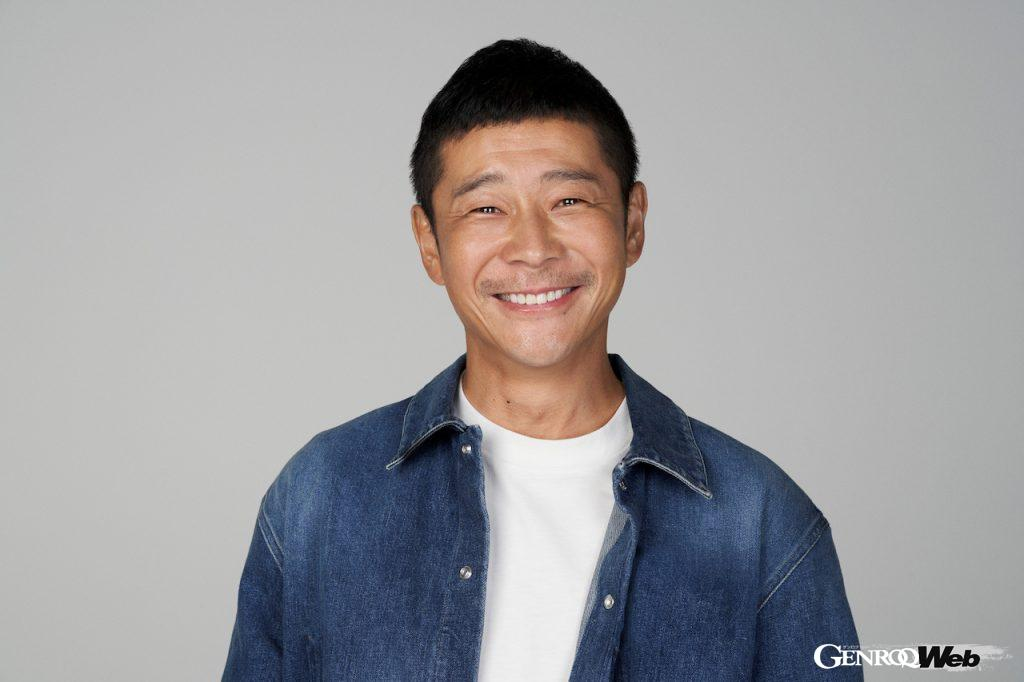 衣料品通販サイト運営会社ZOZOの創業者、前澤友作氏
