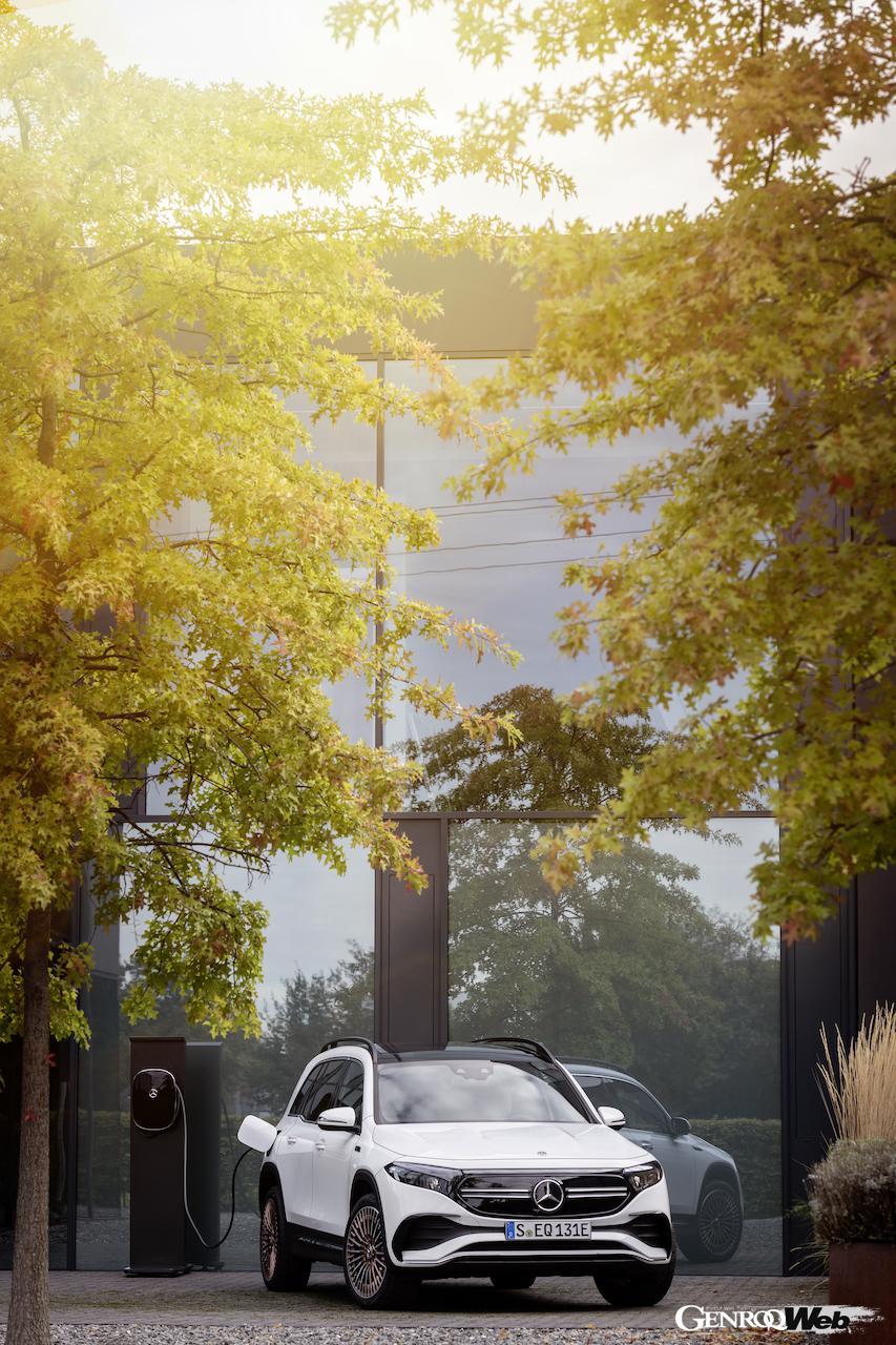 「メルセデス・ベンツ GLBのEV仕様に注目! 電気で400km以上走れる超実用派の小型SUV 【IAAモビリティ レポート】」の36枚目の画像