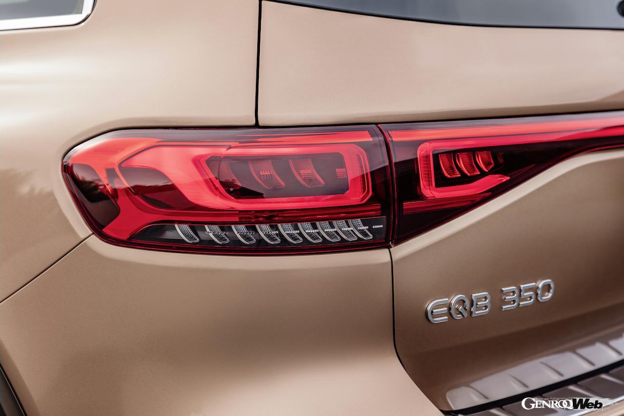 「メルセデス・ベンツ GLBのEV仕様に注目! 電気で400km以上走れる超実用派の小型SUV 【IAAモビリティ レポート】」の13枚目の画像