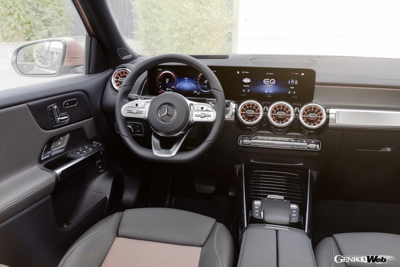 「メルセデス・ベンツ GLBのEV仕様に注目! 電気で400km以上走れる超実用派の小型SUV 【IAAモビリティ レポート】」の17枚目の画像