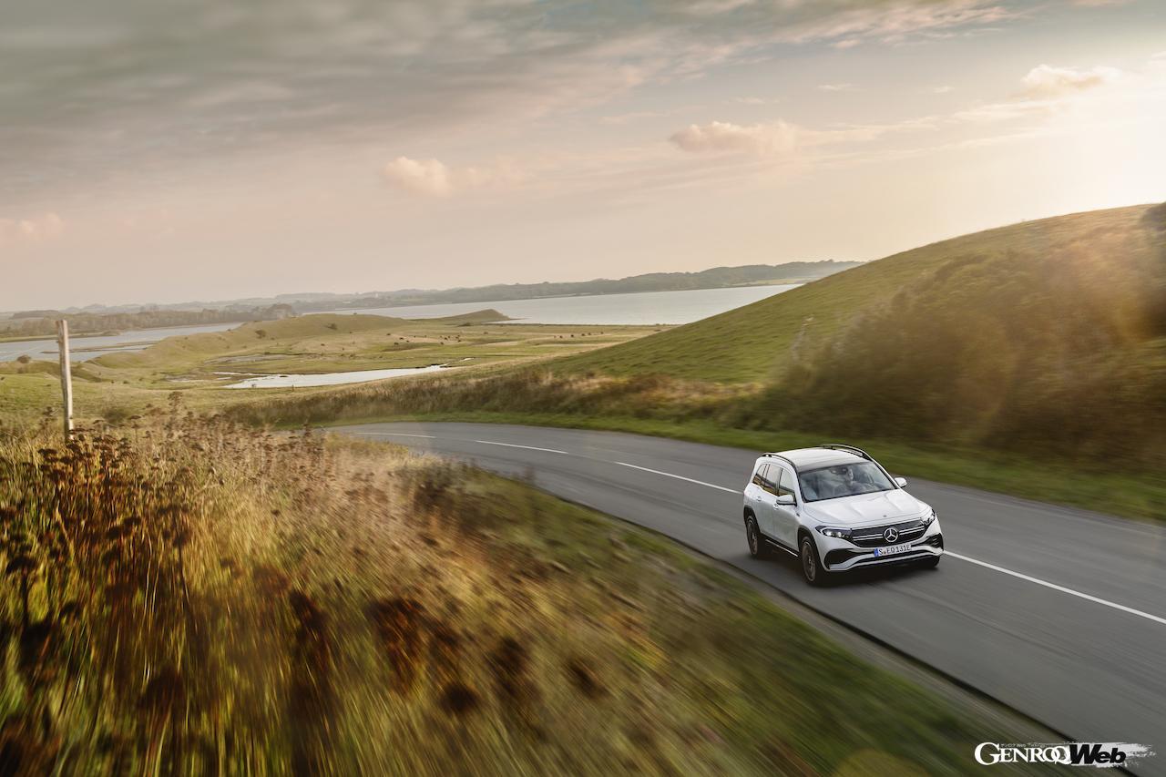 「メルセデス・ベンツ GLBのEV仕様に注目! 電気で400km以上走れる超実用派の小型SUV 【IAAモビリティ レポート】」の20枚目の画像