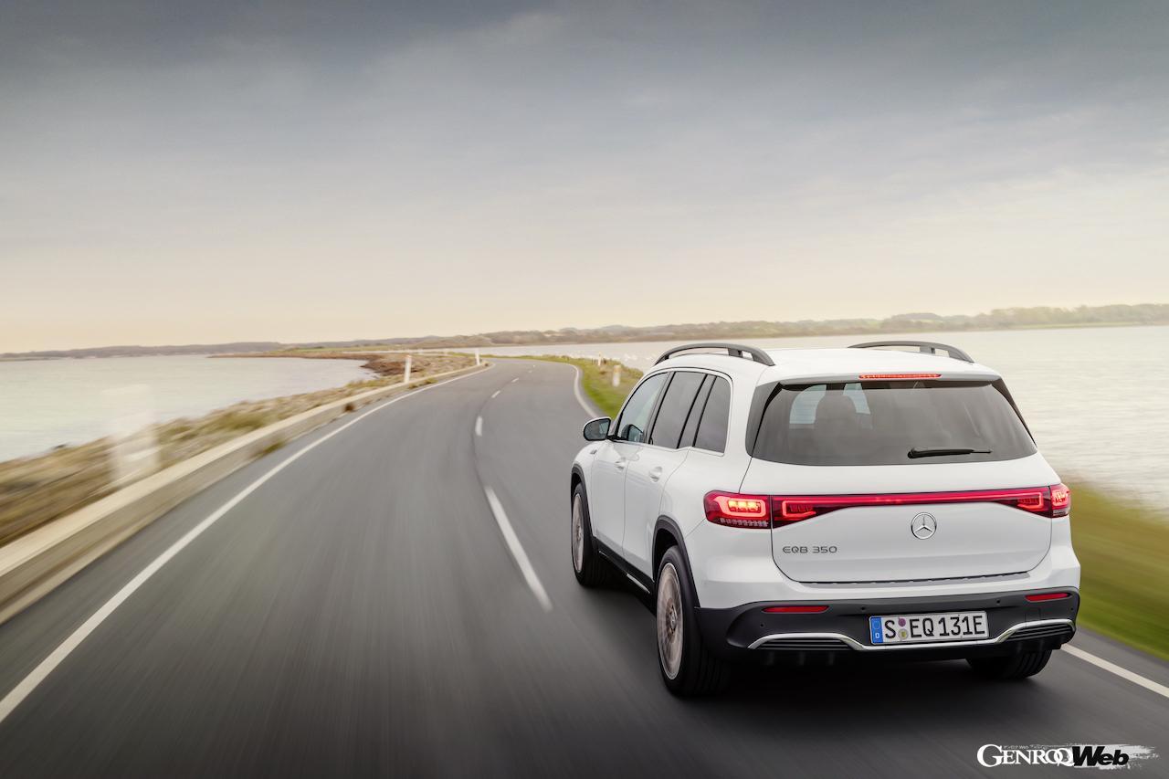 「メルセデス・ベンツ GLBのEV仕様に注目! 電気で400km以上走れる超実用派の小型SUV 【IAAモビリティ レポート】」の23枚目の画像