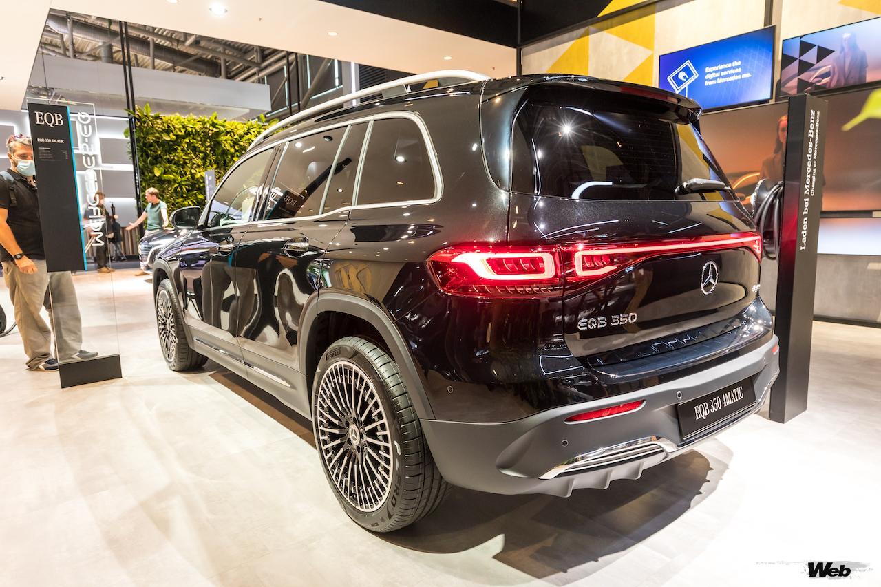 「メルセデス・ベンツ GLBのEV仕様に注目! 電気で400km以上走れる超実用派の小型SUV 【IAAモビリティ レポート】」の2枚目の画像