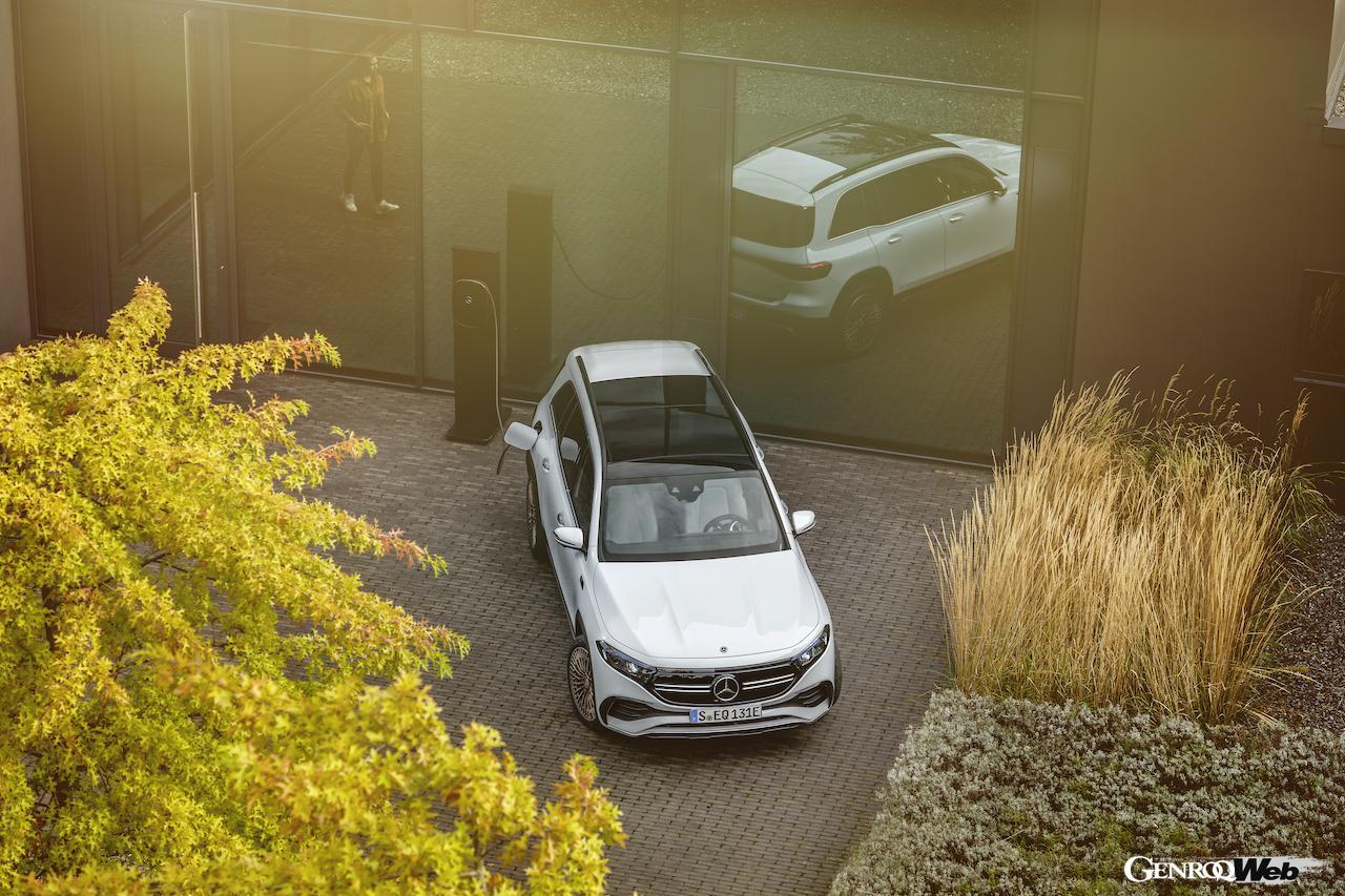 「メルセデス・ベンツ GLBのEV仕様に注目! 電気で400km以上走れる超実用派の小型SUV 【IAAモビリティ レポート】」の30枚目の画像