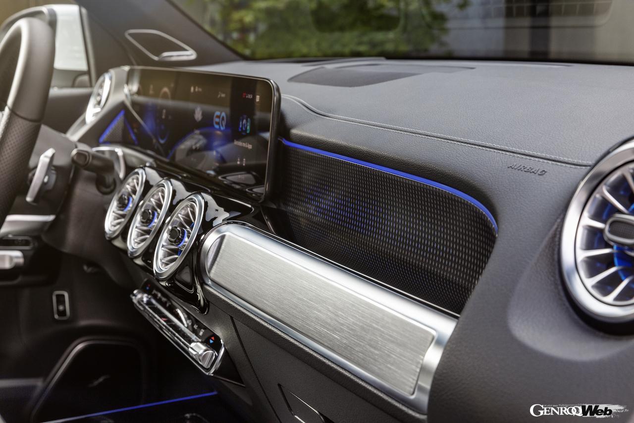 「メルセデス・ベンツ GLBのEV仕様に注目! 電気で400km以上走れる超実用派の小型SUV 【IAAモビリティ レポート】」の32枚目の画像