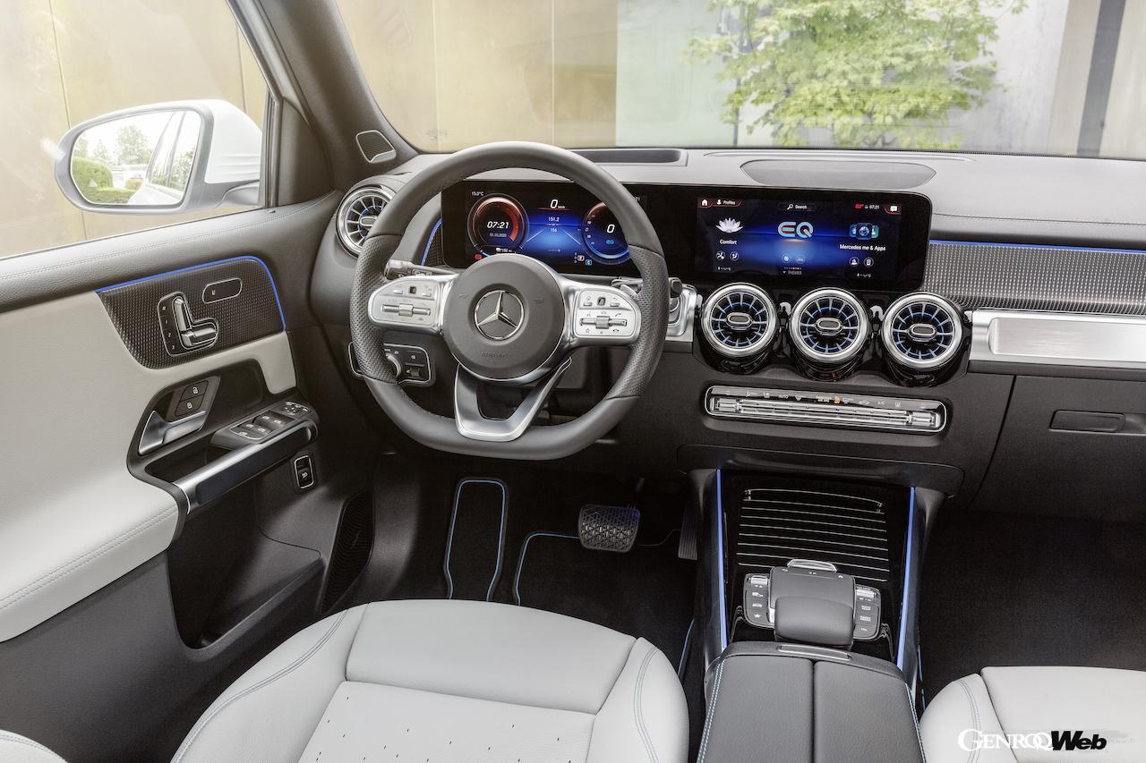 「メルセデス・ベンツ GLBのEV仕様に注目! 電気で400km以上走れる超実用派の小型SUV 【IAAモビリティ レポート】」の33枚目の画像
