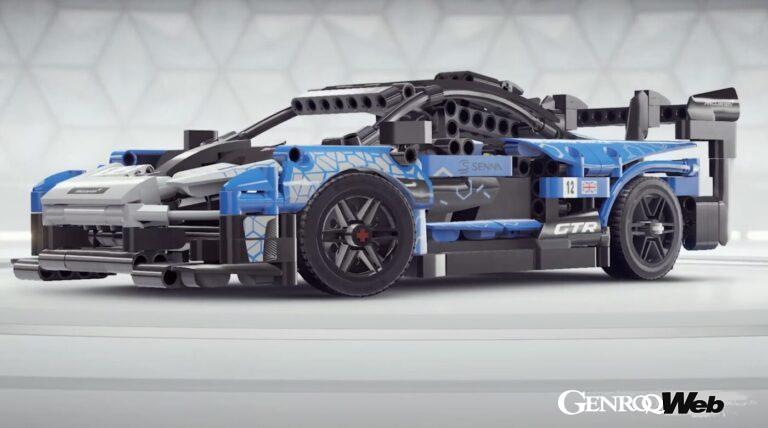 累計1億ダウンロードを誇る『アスファルト9:Legends』に、LEGOテクニック マクラーレン セナ GTRが登場!