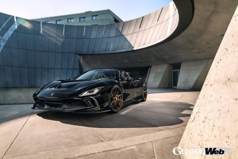 最高出力802hp・最大トルク898Nm、「フェラーリ F8 スパイダー」のチューニングプログラムを発表