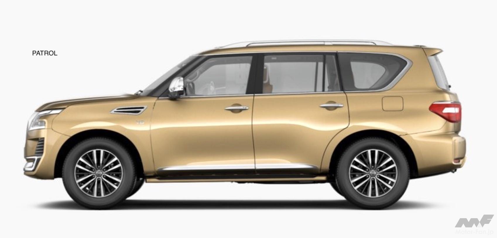「日産SUV全14モデル マグナイト、キックス、エクストレイルから全長5.3m超のパトロールまで多彩な顔ぶれ」の7枚目の画像