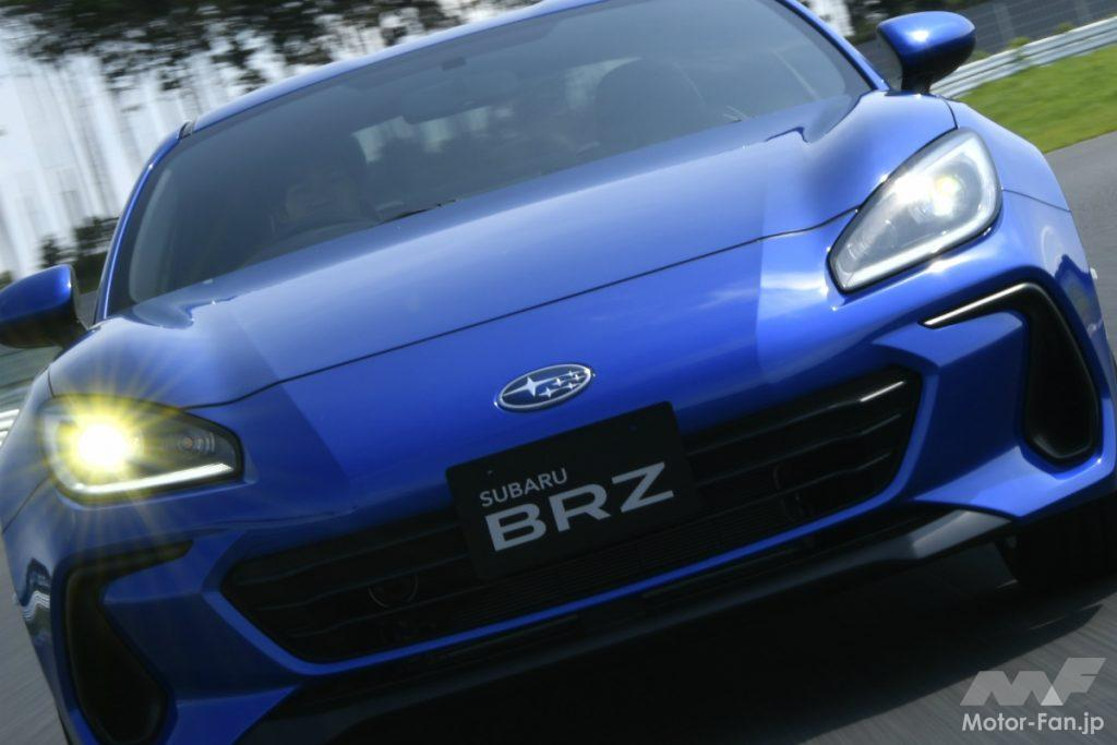 新型スバルBRZの走り