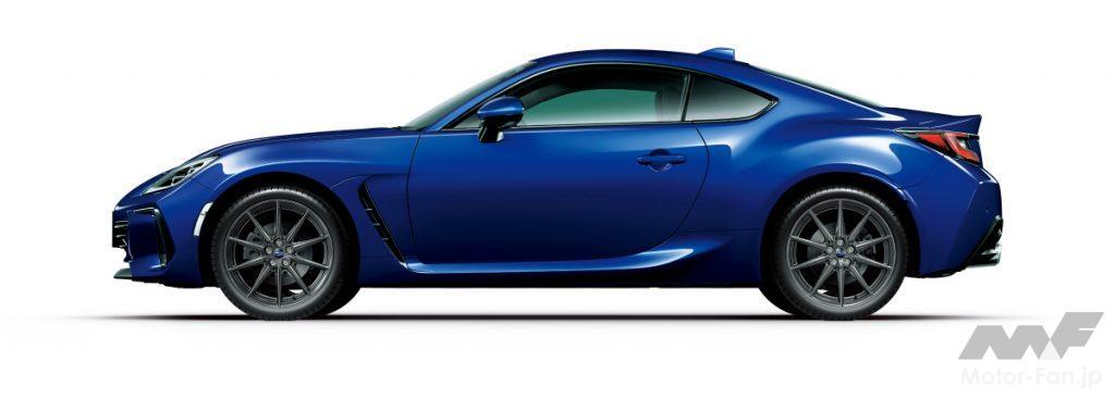 新型スバルBRZのサファイアブルー・パール