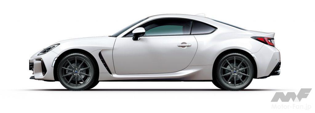 新型スバルBRZのクリスタルホワイト・パール