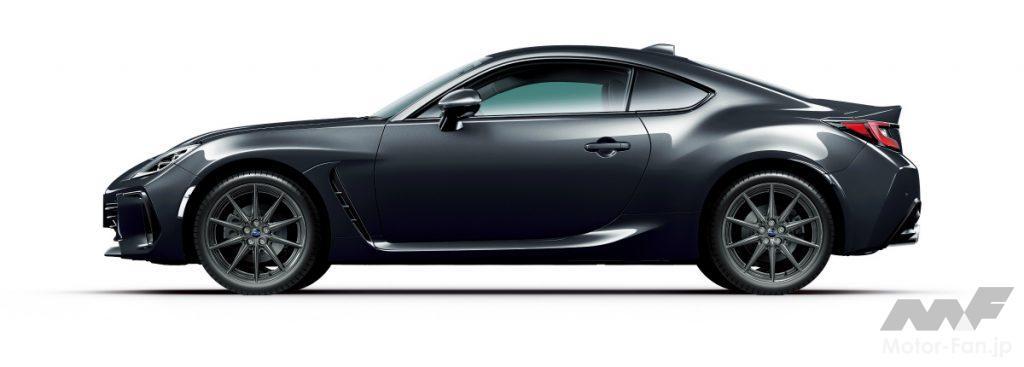 新型スバルBRZのマグネタイトグレー・メタリック