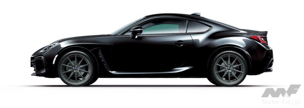 新型スバルBRZのクリスタルブラックシリカ