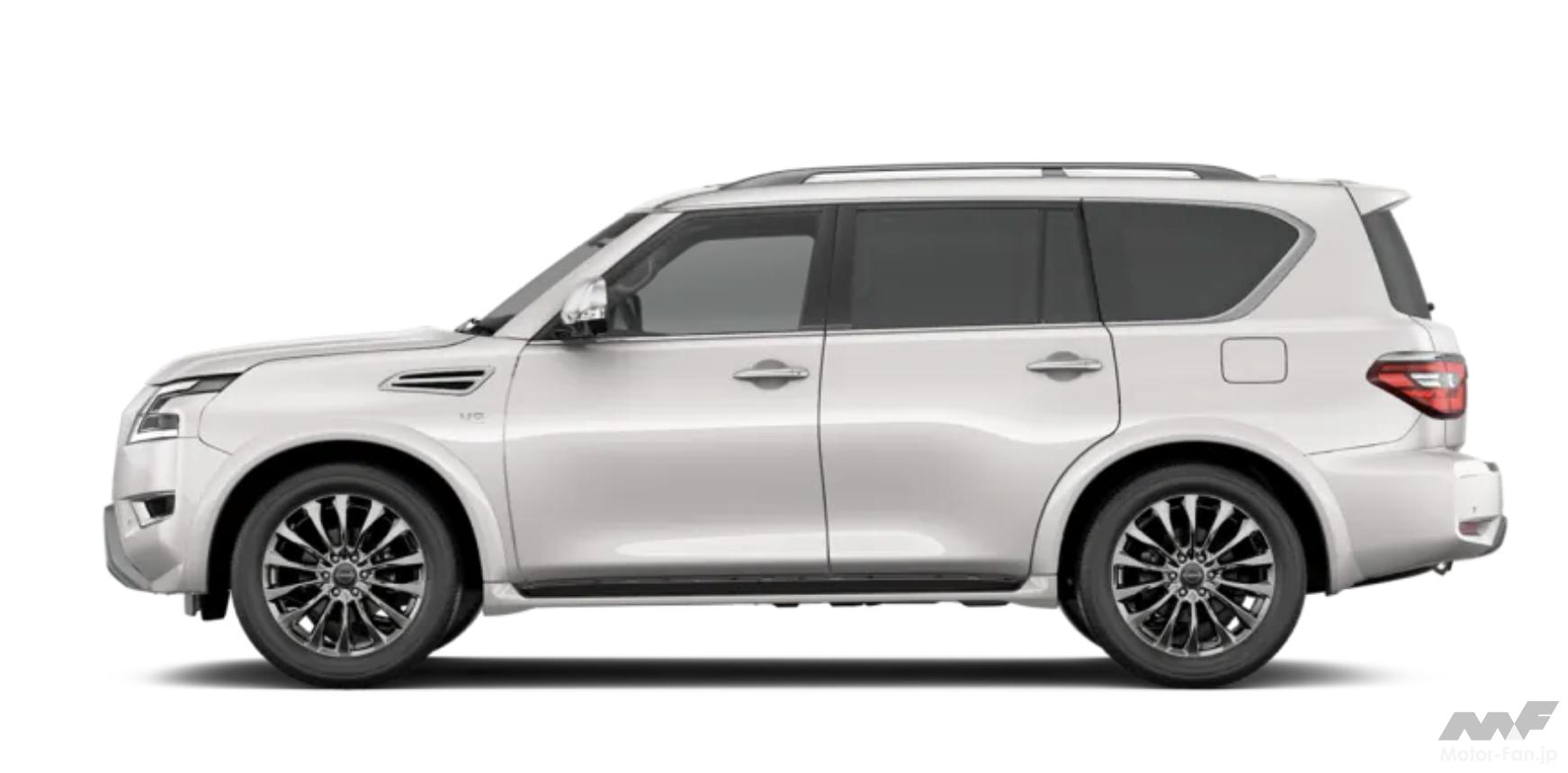 「日産SUV全14モデル マグナイト、キックス、エクストレイルから全長5.3m超のパトロールまで多彩な顔ぶれ」の39枚目の画像