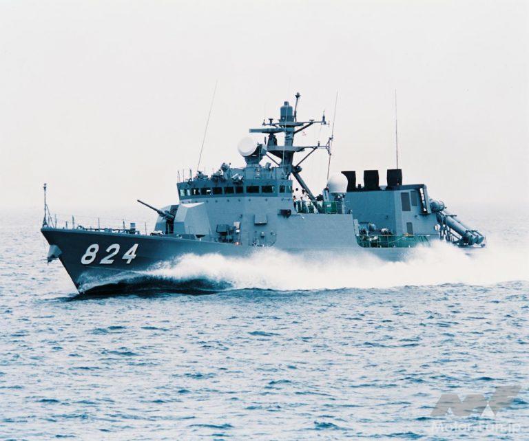 ミサイル艇「はやぶさ」型(PG-824)