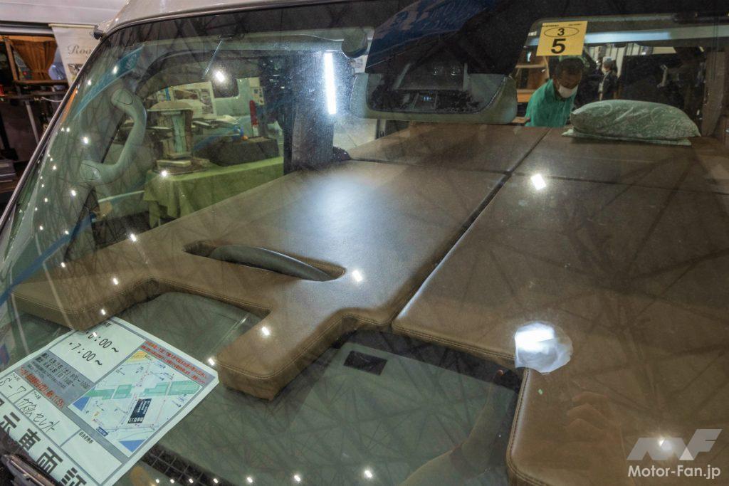 カスタムセレクト ロードコンパクトの上段ベッド