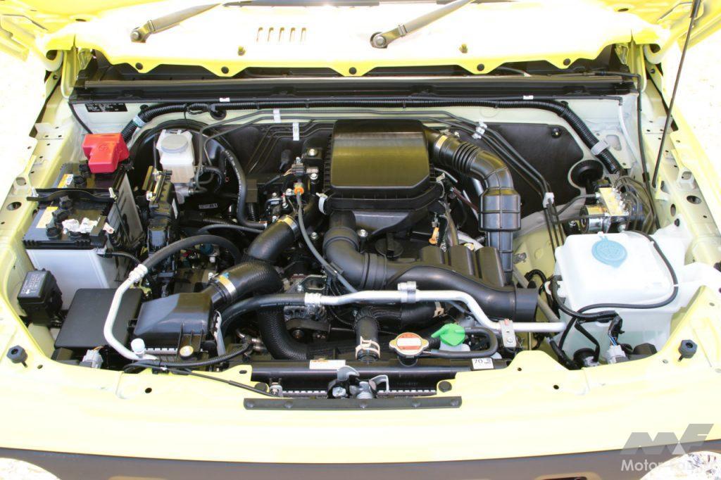 スズキ ジムニーのエンジン