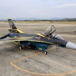 『スペマ』のF-2戦闘機 「第8飛行隊 60周年記念塗装機」を間近に見る 『防衛百景』の現場から - 01_7J1A7206