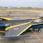 『スペマ』のF-2戦闘機 「第8飛行隊 60周年記念塗装機」を間近に見る 『防衛百景』の現場から - 02_7J1A7201
