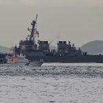 英空母「クイーン・エリザベス」が東京湾・浦賀水道で護衛艦「いせ」と並進、『防衛百景』の現場を見に行く:英海軍・海上自衛隊 - 03_7J1A9348