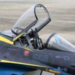 『スペマ』のF-2戦闘機 「第8飛行隊 60周年記念塗装機」を間近に見る 『防衛百景』の現場から - 04_7J1A7208