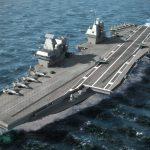 英空母「クイーン・エリザベス」が東京湾・浦賀水道で護衛艦「いせ」と並進、『防衛百景』の現場を見に行く:英海軍・海上自衛隊 - 07_GBNAVY-P004